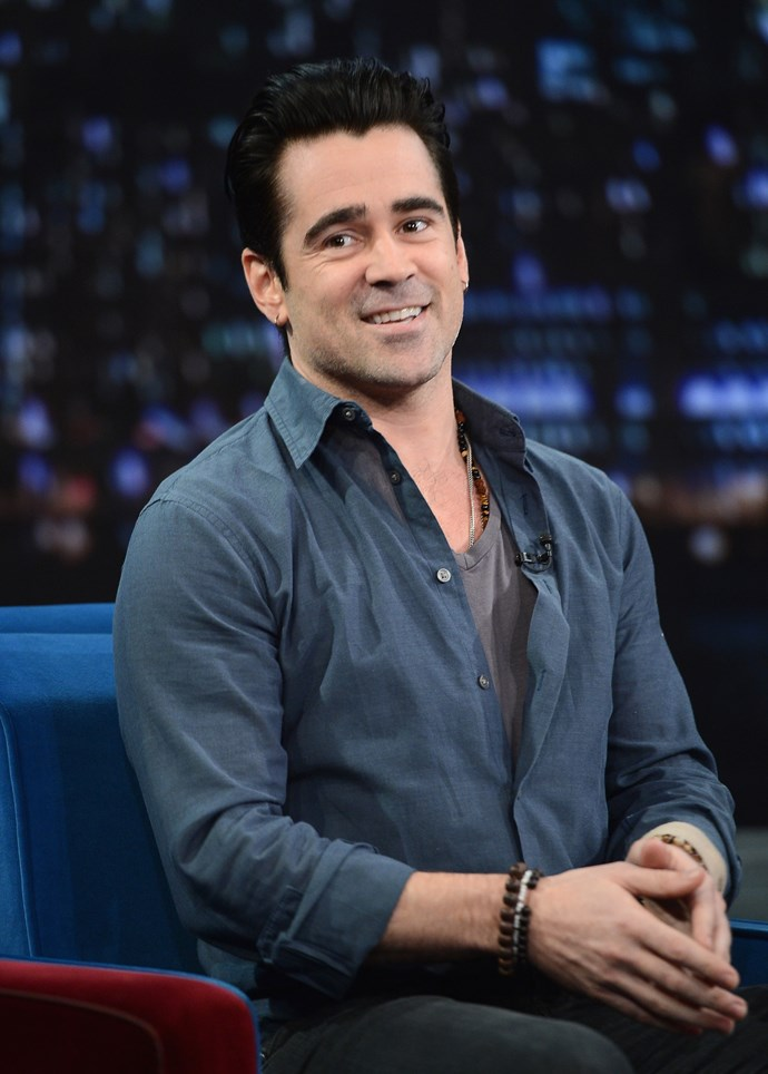 <strong>COLIN FARRELL </strong><br><br> Probably the last person we'd associate with any form of dancing, but wait for it: the Irishman used to work as a line dancing instructor back in the nineties, touring.