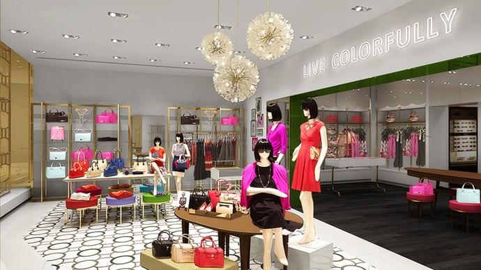 Kate Spade opens first Australian store