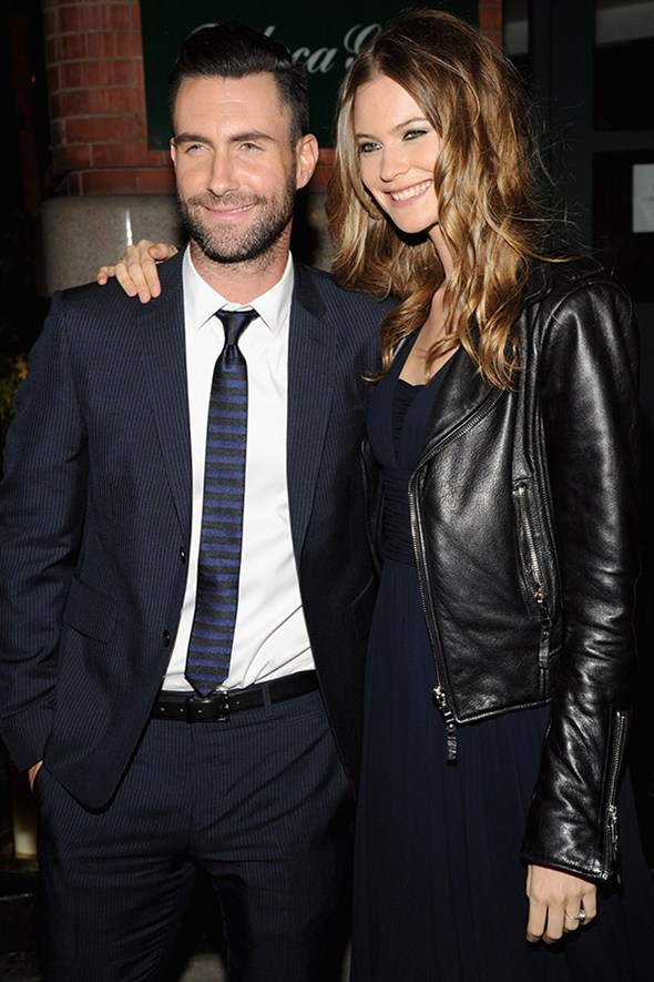 """Over the weekend Adam Levine and Behati Prinsloo tied the knot in a star-studded ceromony in Mexico. Click <a href=""""http://www.elle.com.au/news/celebrity-news/2014/7/adam-levine-and-behati-prinsloo-wed-in-style/"""">here</a> for all the details."""