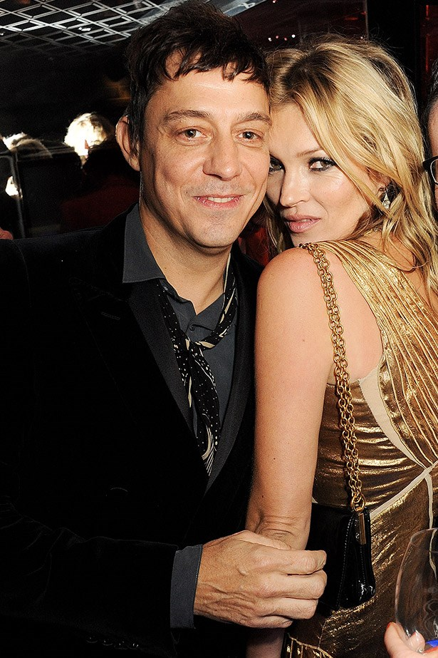 After a string of musical relationships, Kate Moss setttles down with The Kills frontman Jamie Hince and has been happily (or not, depending on which tabloid you follow) married since 2008.