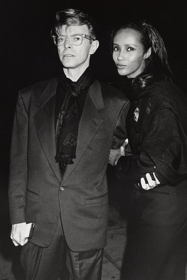 """Arguably one of the entertainment industry's most solid relationships, David Bowie and model Iman have been together since 1990, and married since 1992.  """"I was naming the children the night we met ... it was absolutely immediate,"""" Bowie is quoted as saying."""