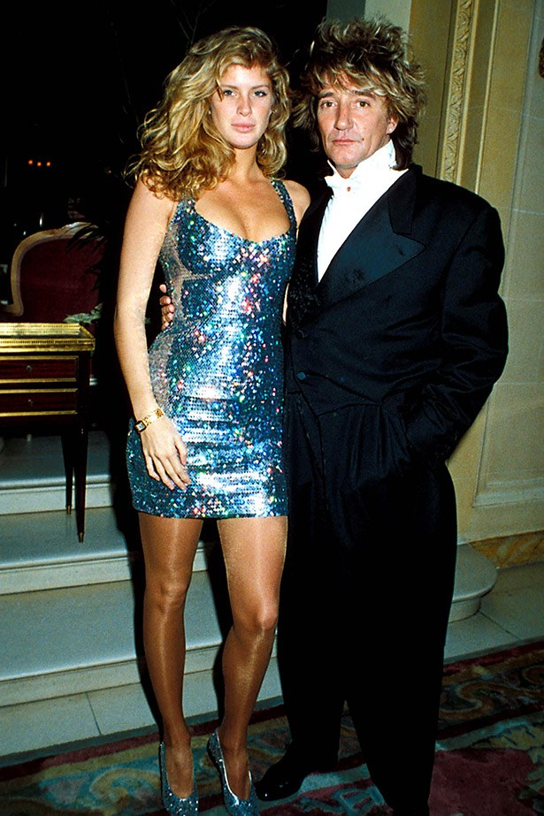 Another major modeliser, Rod Stewart has dated several high-profile faces, including his '90s perm-partner, Kiwi model Rachel Hunter, who he was married to for 16 years (and separated for seven of those).
