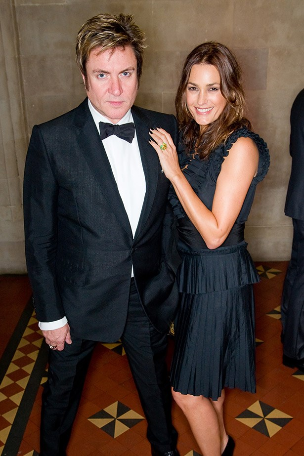Another long-standing rock 'n' roll marriage, Duran Duran frontman Simon Le Bon and supermodel Yasmin Parvaneh (now Le Bon) were hitched in 1985, a year after Le Bon famously saw Parvaneh's photo in a magazine and called her agency to track her down.