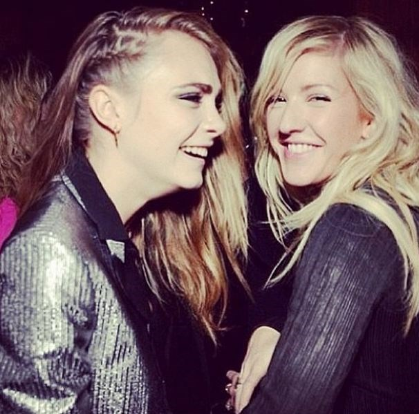 <strong>Ellie Goulding</strong><br><br> This 27-year-old British singer and Cara Delevingne have bonded over a love of music, attending many festivals and events together. Various tabloids reported that after her split with ex-girlfriend Michelle Rodriguez, Delevingne turned to Goulding for support.<br> Instagram handle: @elliegoulding