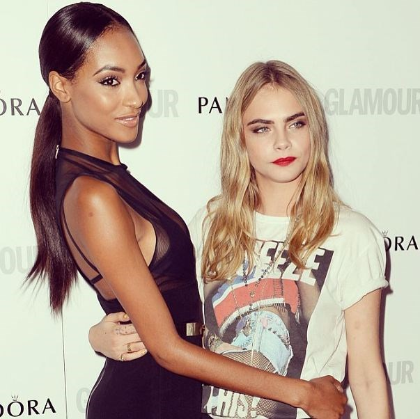 <strong>Jourdan Dunn</strong><br><br> This 23-year-old British model and Cara Delevingne have a lot in common, they both grew up in London and they are both signed to the same agency. Just a few months back, the BFFs got matching interlocking 'DD' tattoos, which stood for their surnames. <br> Instagram handle: @officialjdunn