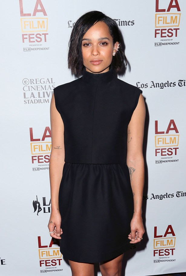 """<strong>Zoë Kravitz</strong><br><br> She may be rock and roll royalty, but this model, singer and actress has been clocking up the screen time all on her own- <em>Californication</em>, <em>X-Men: First Class</em> and <em>Divergent</em>, to name a few. In <em>Mad Max: Fury Road</em>, she plays Toast, another of the """"Wives""""."""