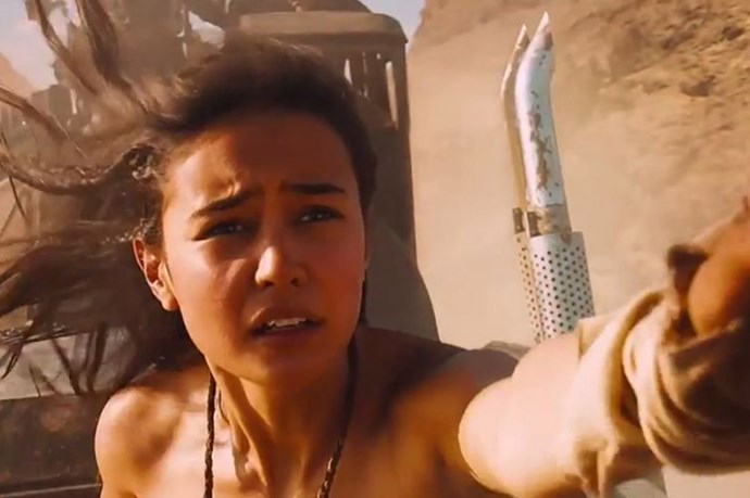 Courtney Eaton gets caught up in the emotion of the chaotic battle as Fragile.