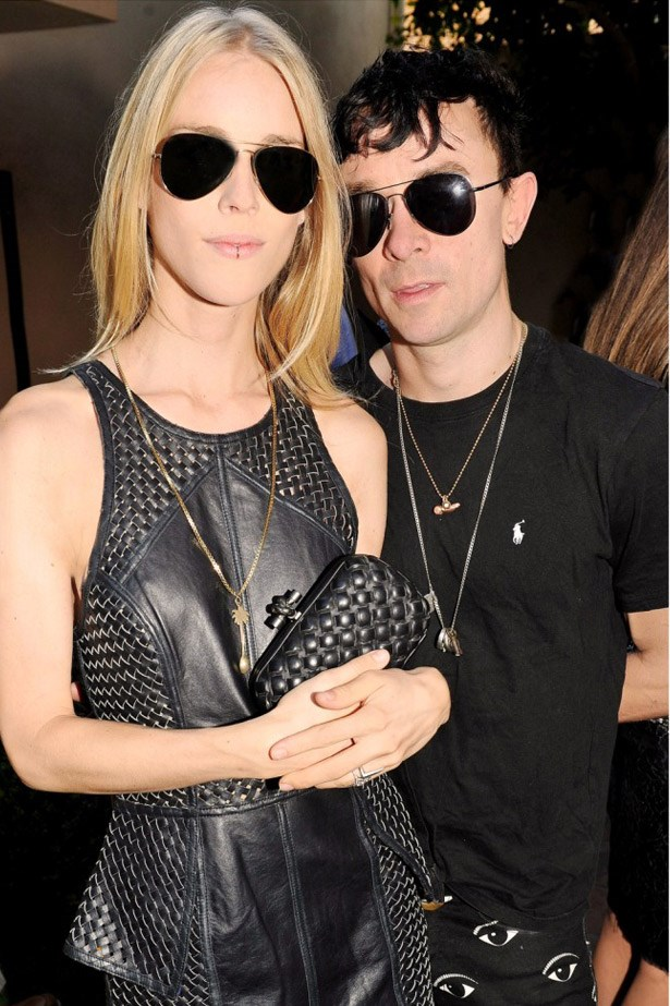 "Socialite and Cara Delevigne's BFF, Mary Charteris and musician husband Robbie Furze. <br><br> Related links:<br> <a href=""http://www.elle.com.au/news/zeitgeist/2014/7/caras-clique-a-bff-cheat-sheet/"">Cara's clique: a cheat sheet</a>"