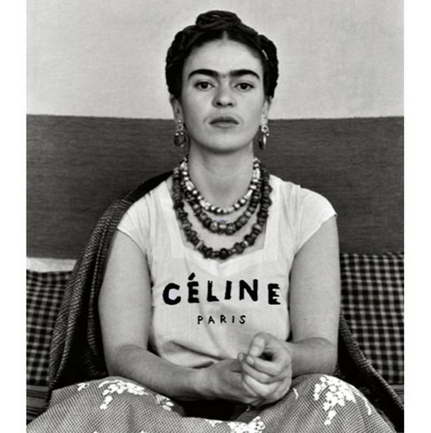 """Frida for Céline"" <br><br> Instagram: @copylab"