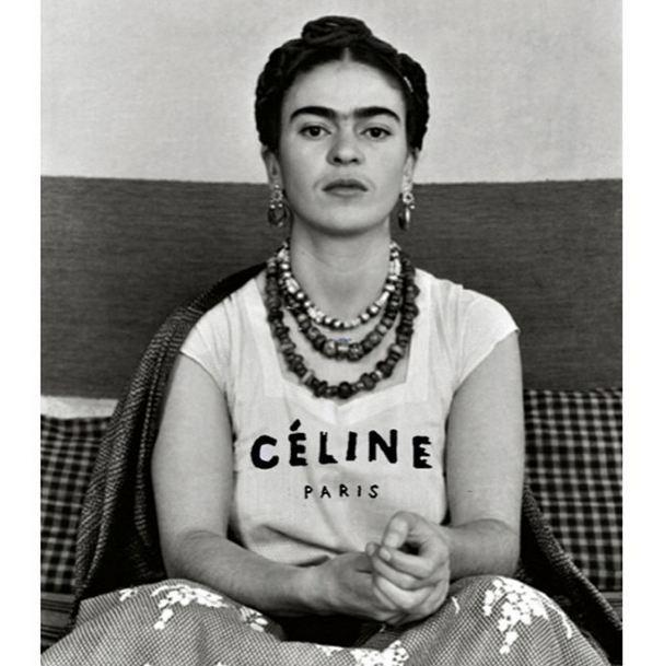 """""""Frida for Céline"""" <br><br> Instagram: @copylab"""