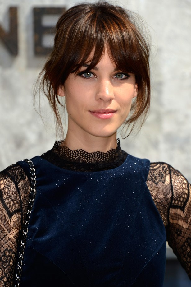 <strong>Alexa Chung's eyes</strong><br> The Brit presenter and model's cat-like eyes are just as much her signature as her long legs. To put these on show, she'll often play up their almond-like shape by going easy on the eyeshadow and focusing instead on heavy, flicked-out liner and lots of lashes