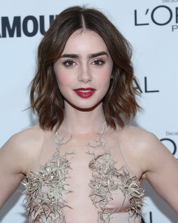 <strong>Lily Collins' brows</strong><br> Arguably the best brows in Hollywood, this young starlet will enhance and complement her best feature with smokey eyeshadows, heavy liner or lots of lashes.