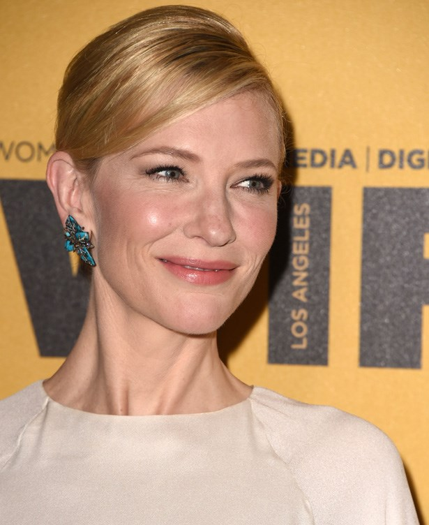 <strong>Cate Blanchett's cheekbones</strong><br> Her skin may be out-of-this-world amazing, but we're doing a shout out to Cate's beautiful cheekbones and the glowy, illuminator and soft apricot cream blushes she uses to enhance them. Perfection.