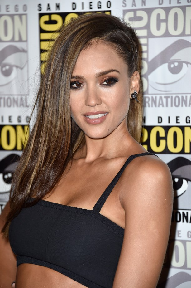 <strong>Jessica Alba's nose</strong><br> Plastic surgeons in America have claimed that Jessica Alba posses one of the most requested noses in the business. On the red carpet, the <em>Sin City</em> star often uses highlighter down the middle of her nose to highlight this feature.