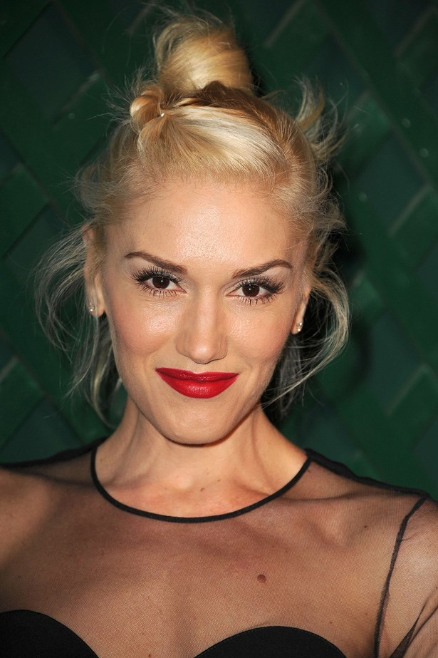 Got bangs? Then adapt Gwen Stefani's sporty bun with a twist at the front to stop strands sticking.