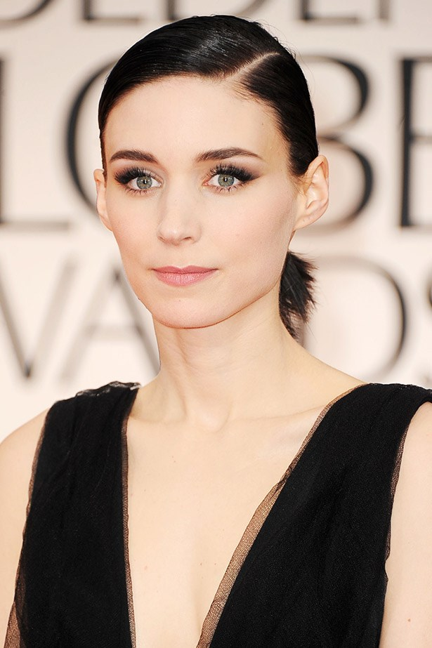 <strong>Go Goth</strong><br> Considering switching to the dark side? Why not. However, we do recommend speaking to a professional first, as black or black-brown looks the most luxurious when hair is super shiny and healthy, like Rooney Mara's slick do here. Just keep in mind you may have to change up your makeup look. But that's all part of the fun, is it not?