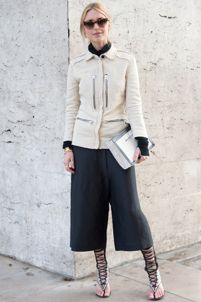 <strong>Pernille Teisbaek</strong><br> Danish editor Teisbaek's Scandi-cool outfits and model sensibilities make her a sartorial no-brainer.
