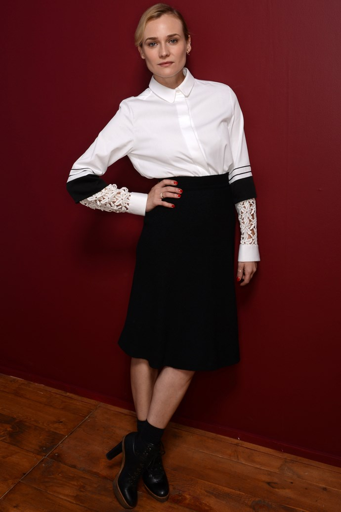 """<strong>Diane Kruger</strong><br> Ms Kruger's exclusion from this list quite frankly has us questioning human existence as we know it. As well as churning out consistently on-point outfits, it was revealed earlier in the year that the starlet is <a href=""""http://www.elle.com.au/news/fashion-news/2014/6/diane-kruger-is-designing-a-bag-with-jason-wu/"""">designing a handbag with Jason Wu</a>."""