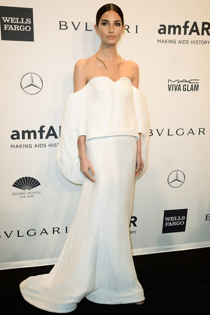 <strong>Lily Aldridge</strong> <br> This 28-year-old Victoria's Secret model and rock'n'roll wife (Lily's married to Kings Of Leon front man Caleb Followill) is all too often the object of our body and hair envy. However, it's her super-adaptable style that landed her on this list. One minute she's killing it in couture; the next, showing off her hot bod in skinny jeans and an easy tee.