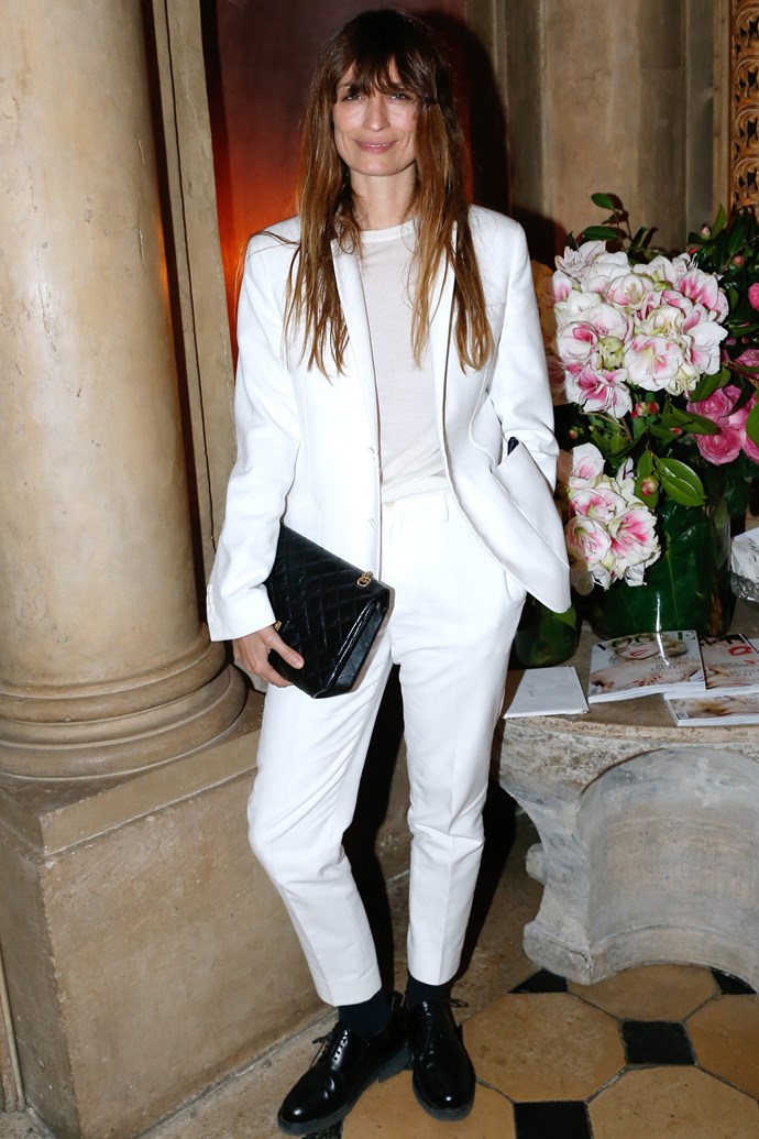 <strong>Caroline de Maigret</strong><br> A former model, music producer De Maigret achieves the strain of masculine-yet-chic French dressing we can only dream of.