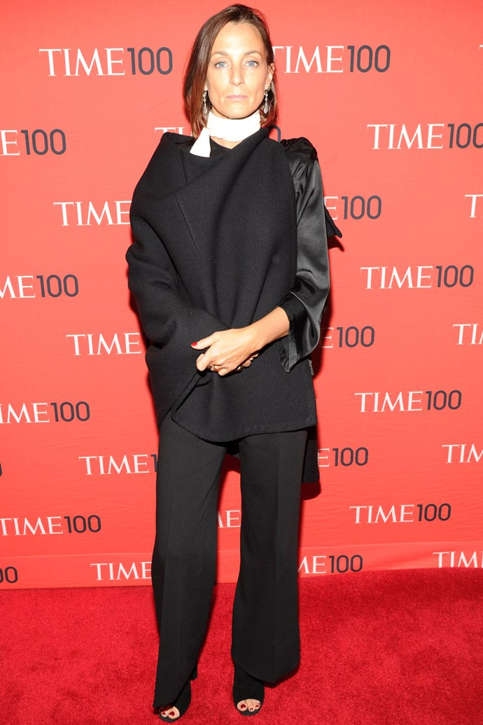 <strong>Phoebe Philo</strong><br> The designer behind cult label Céline, Philo has a restrained and uncompromising personal style that lets her work do the talking. But she probably doesn't need a place on Vanity Fair's list anyway: she made this year's <em>Time </em>100.