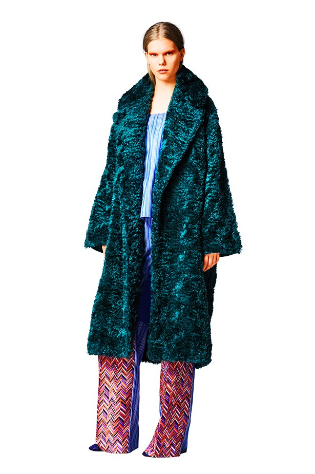 <p><strong>Re-Colour-Brate</strong></p> <p>The pre-fall verdict is in: black furs and grey fluff, begone. Instead, designers cosied up to jewel tones or cool creams, and Roksanda Ilincic left us wondering how we ever managed without this teal mohair and felted wool wonder.</p> <p>Look by Roksanda Ilincic</p>