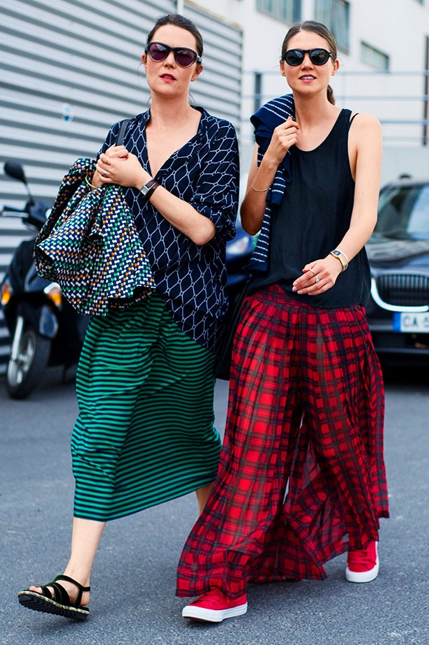 "<p>But the trend is perhaps best summed up by Dree Hemingway and her Instagram shout-out to her fashion muse for the day, Style.com's Katharine K Zarrella: ""Sometimes you need to channel your best friend."" Yes, #friendspiration forever. </p>"