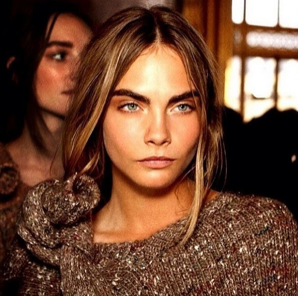 The brows. <Br> We've tried everything to achieve power-brow status akin to the Delevingne.