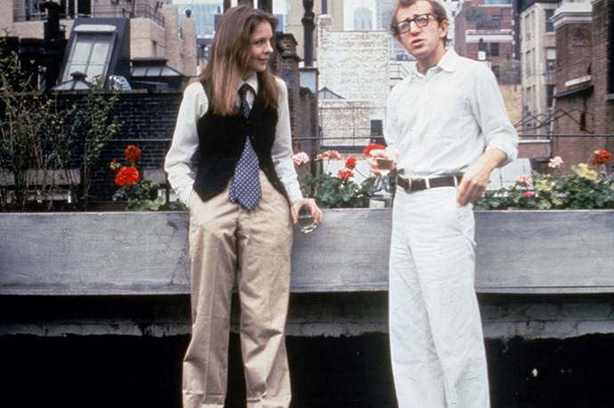Always inspiring: Diane Keaton and Woody Allen in <em>Annie Hall</em>