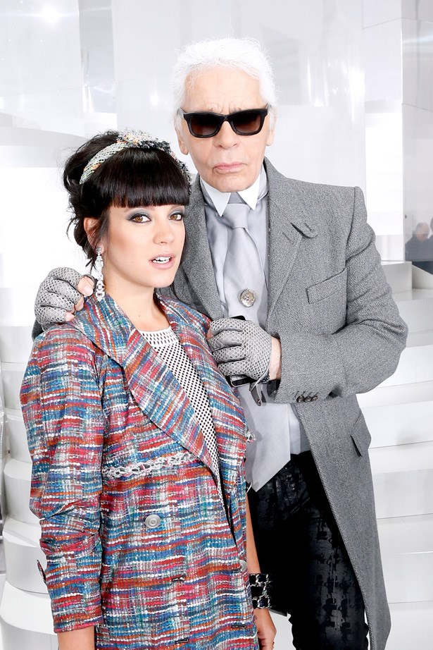 Even Lily Allen has been a Chanel girl. The popstar was once the face of the Coco Cocoon handbag collection in 2009.