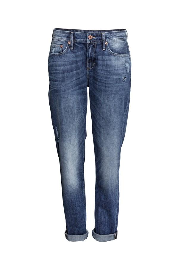 """Boyfriend jeans, $59.95, H&M, <a href=""""http://www.hm.com/au/product/19539?article=19539-A"""">hm.com/au</a>"""