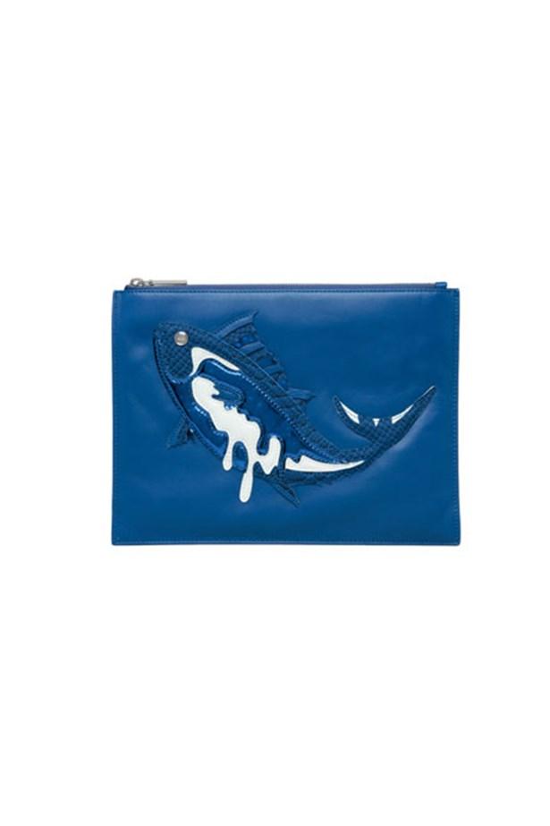 "Leather pouch, $439, Kenzo, <a href=""http://www.myer.com.au/shop/mystore/women/au-women-handbags-designer-s-199/kenzo-221032090-221033170--1#&panel1-1"">myer.com.au</a>"