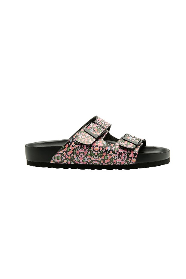 "Floral sandals, $39.95, Lipstick Shoes, <a href=""http://www.myer.com.au/shop/mystore/women/sandals-thongs/lipstik-toffee-floral-sandal#&panel1-1 "">myer.com.au</a>"