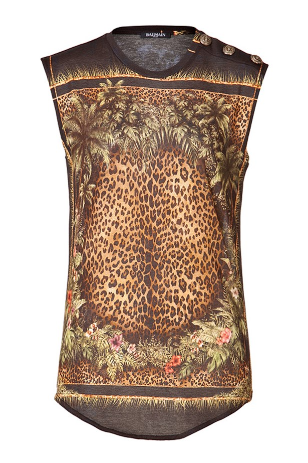 "Animal print top, $676, Balmain, <a href=""http://www.stylebop.com/au/product_details.php?menu1=designer&menu2=&menu3=207&id=548410"">stylebop.com</a>"