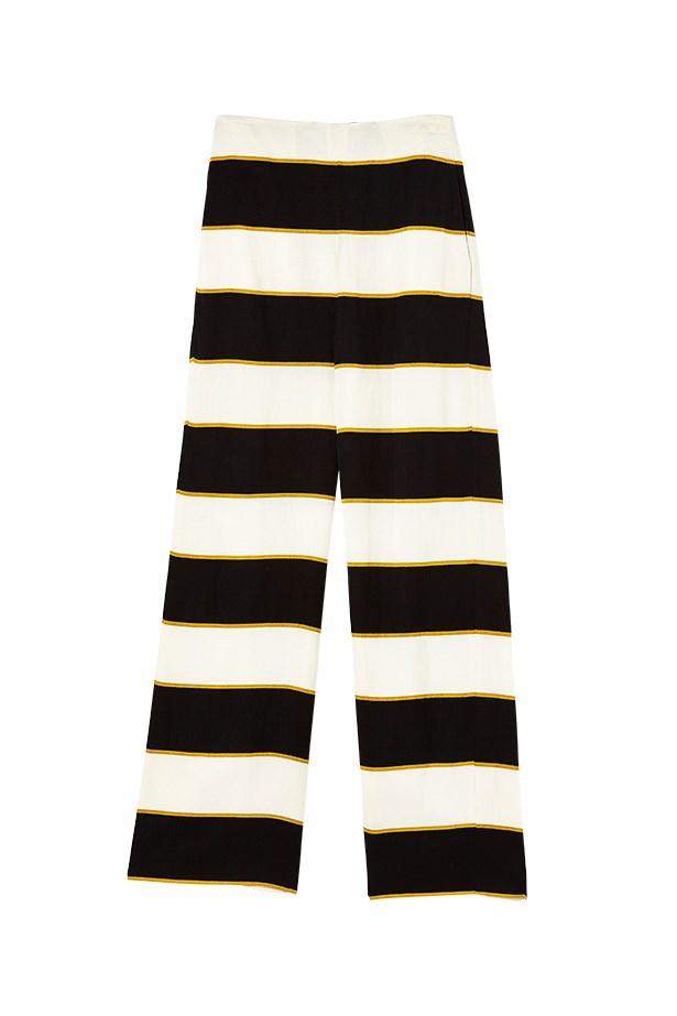 "Trousers, $390, Sass & Bide, <a href=""http://www.sassandbide.com"">sassandbide.com</a>"