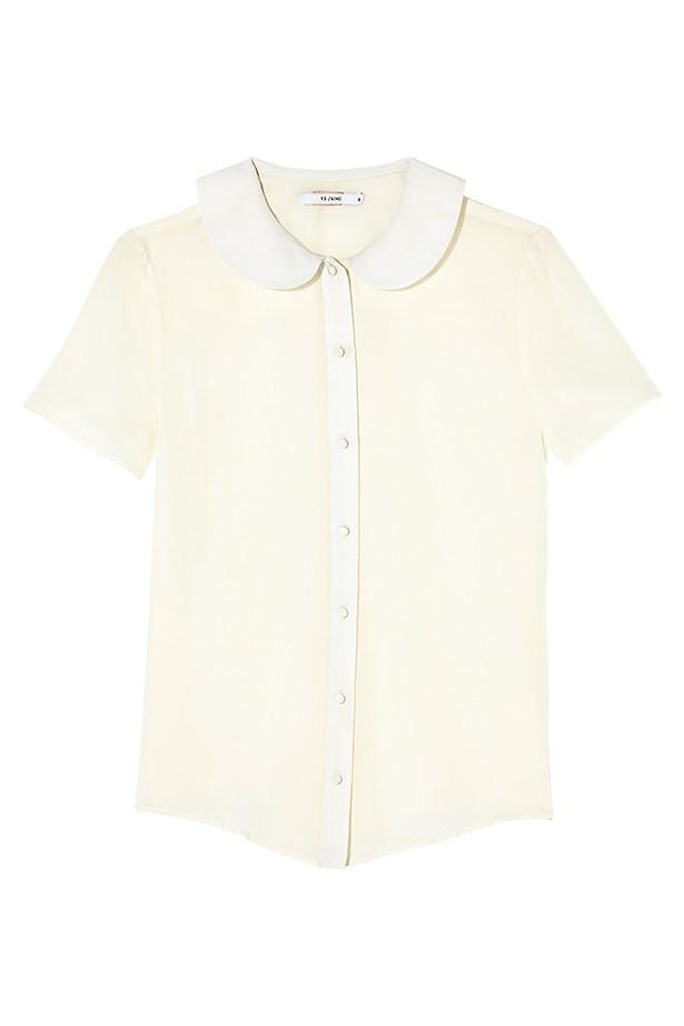 "Shirt, $220, YB J'aime, <a href=""http://www.yeojinbae.com"">yeojinbae.com</a>"
