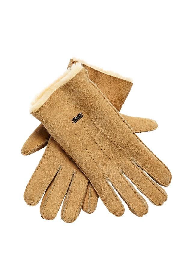 """Gloves, $130, Emu Australia, <a href=""""http://www.emuaustralia.com"""">emuaustralia.com</a>"""