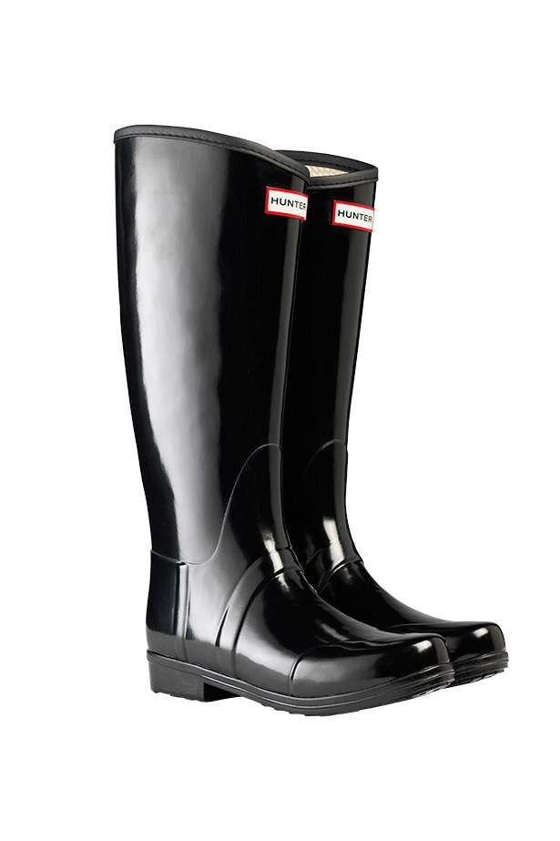"Boots, $195, Hunter, <a href=""http://www.myer.com.au"">myer.com.au</a>"