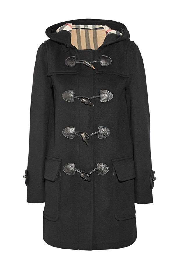 "Coat, $1,375, Burberry Brit, <a href=""http://www.burberry.com"">burberry.com</a>"