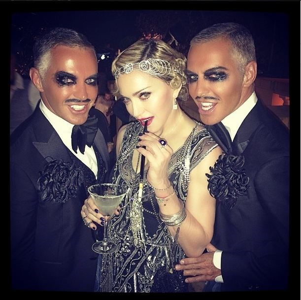 Inside Madonna's 56th birthday party