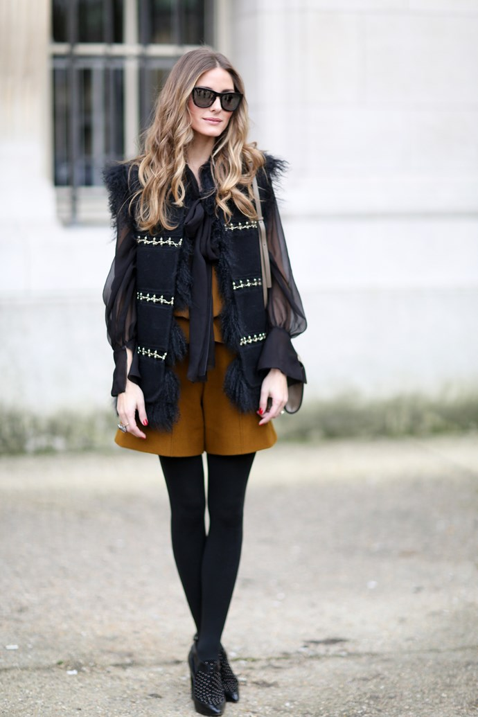 Olivia Palermo is an obvious choice: her polished and classic aesthetic has her looking immaculate from year to year.
