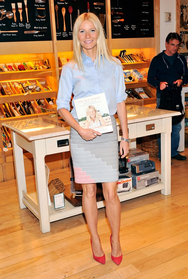 <strong>Gwyneth Paltrow</strong><BR><BR> Gwyneth has the advantage of being besties with Stella McCartney, so she does have an enviable wardrobe of Stella's exquisite wool coats and suits. However, when not dressed in top to toe Stella, her style is a simple and easy-to-replicate blend of Hamptons mum-meets-downtown New York business woman – think relaxed silk shirts and peg-legged pants worked with sharp pumps, pinstripe shirting with pastel pencil skirts, and a trench coat on hands at all times.