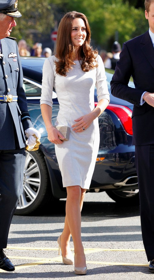 <strong>Catherine, Duchess of Cambridge</strong> If anyone has the art of the power two-piece down to a science, it's Duchess Kate. For those who love a bit more of a routine and a signature style, look to this royal for your 9-5 inspiration. Kate's style rarely sways from the slim silhouette and matchy-matchy looks we know and love. If there's one thing she's taught us, it's the power of a sharp overcoat.