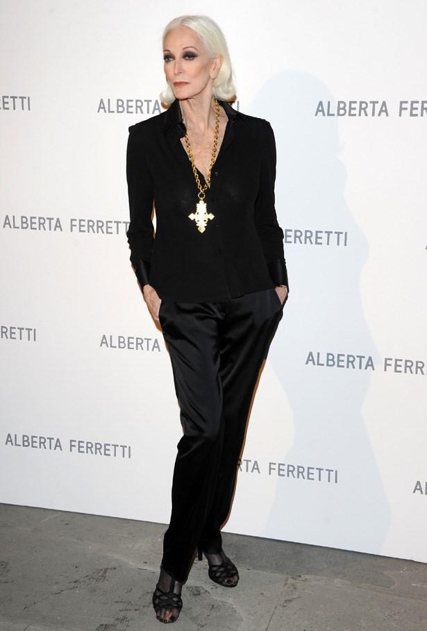 Carmen Dell'Orefice, Model <br> Age: 83