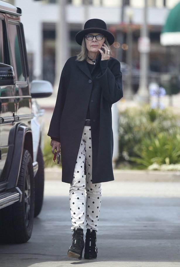 Diane Keaton, Actress <br> Age: 68