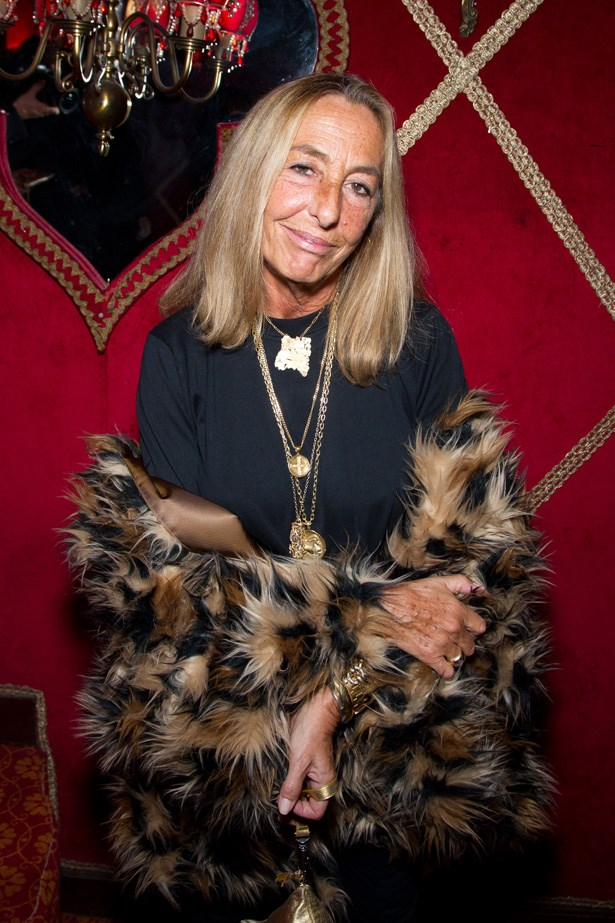 Carlyne Cerf de Dudzeele, Stylist <br> Age: 63