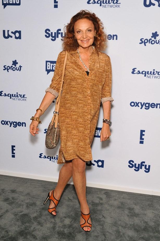 Diane Von Furstenberg, Designer <br> Age: 67