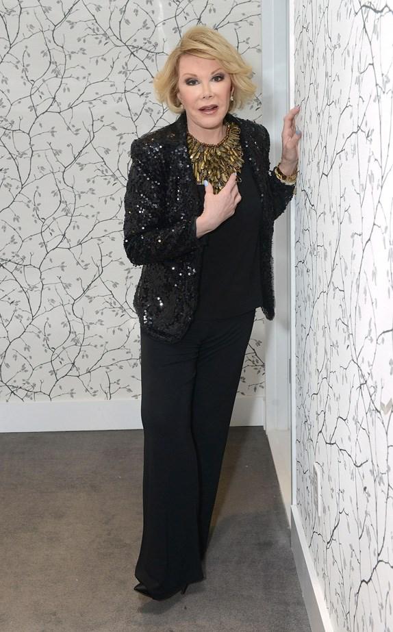 Joan Rivers, Comedian <br> Age: 81