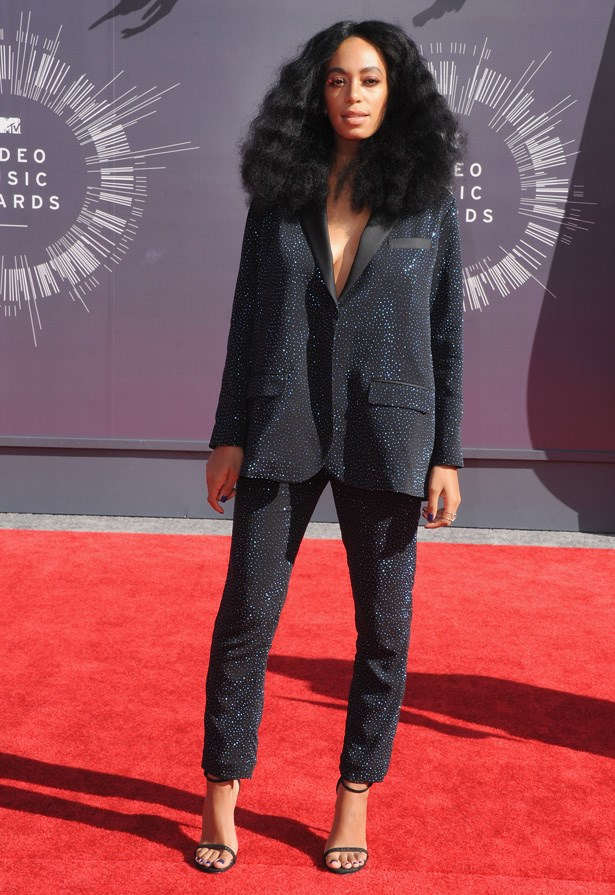Solange Knowles at the VMAs
