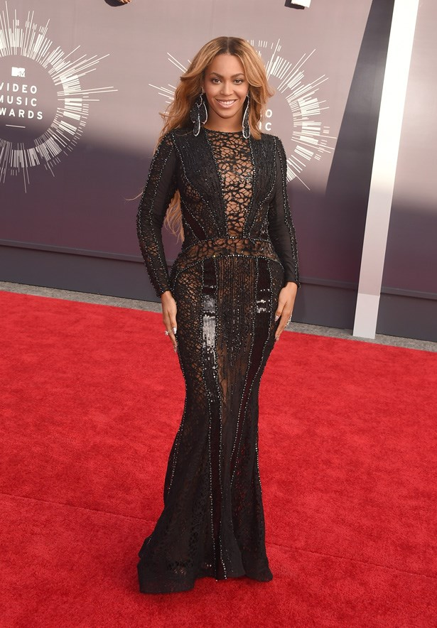 Beyonce Knowles In Nicolas Jebran Couture